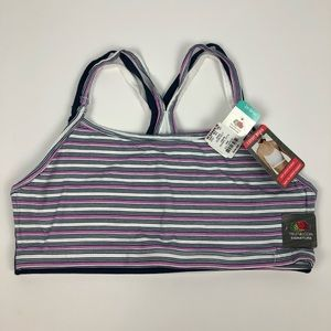 NWT FRUIT OF THE LOOM Women's Sports Bras Size 2XL
